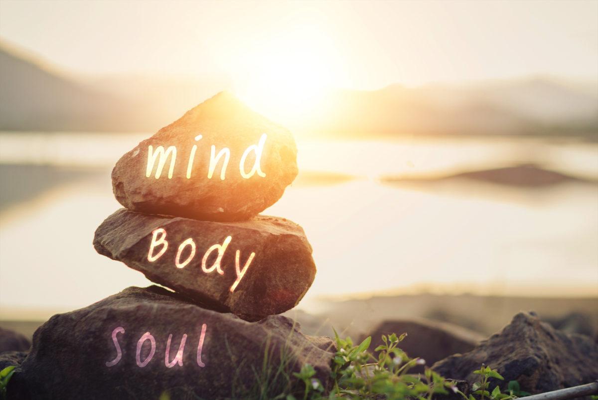 auf steinen steht geschrieben mind body soul